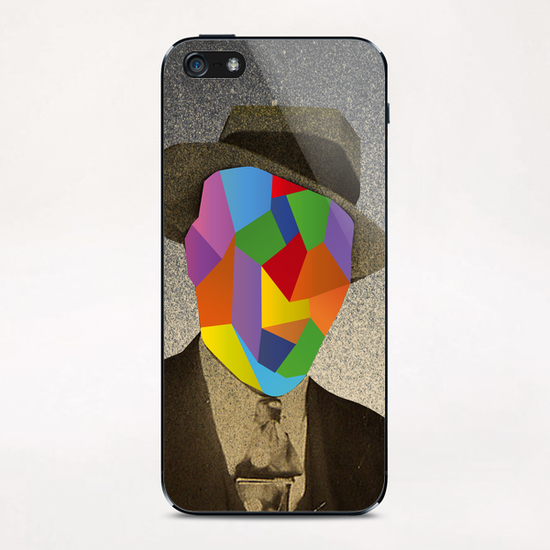 The man with the hat iPhone & iPod Skin by Malixx