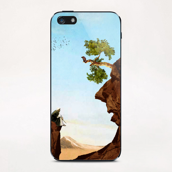 The Old Man iPhone & iPod Skin by DVerissimo