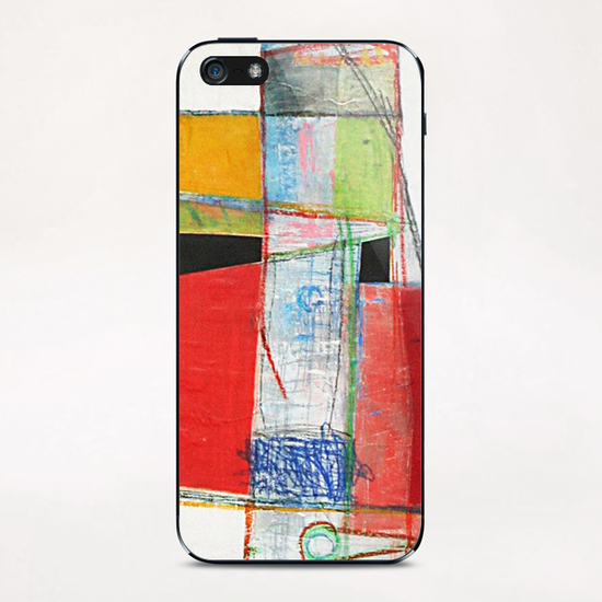 Tower iPhone & iPod Skin by Pierre-Michael Faure