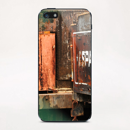 Train Cemetery iPhone & iPod Skin by fauremypics