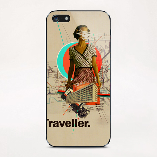 Traveller iPhone & iPod Skin by Frank Moth