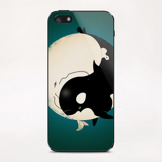 When Willy meets Moby iPhone & iPod Skin by dEMOnyo