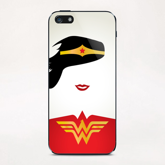 WONDER WOMAN iPhone & iPod Skin by Roberto Caporilli