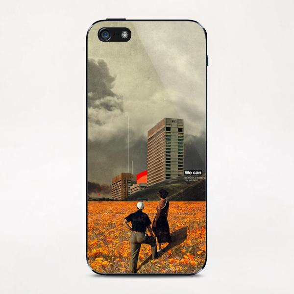 We Can iPhone & iPod Skin by Frank Moth