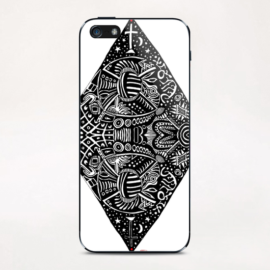 3 sommets #1 iPhone & iPod Skin by Denis Chobelet