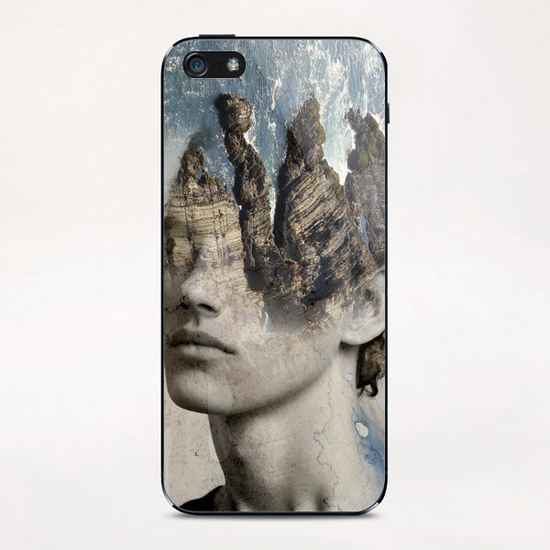 The sound of waves iPhone & iPod Skin by Vic Storia