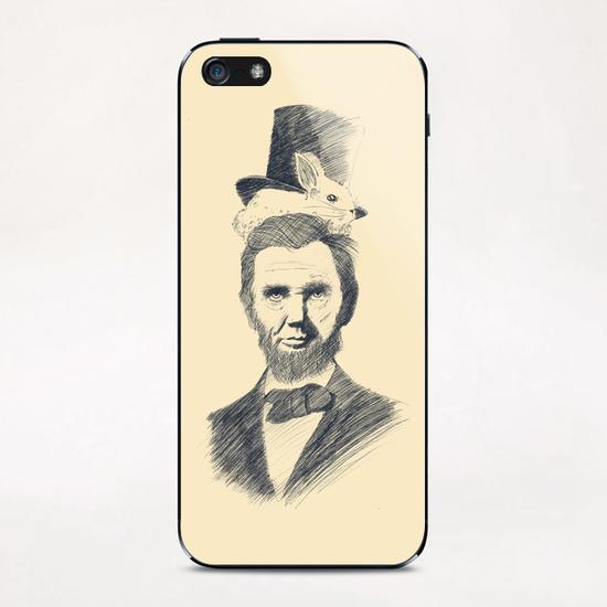 Abraham Kadabraham iPhone & iPod Skin by Tobias Fonseca