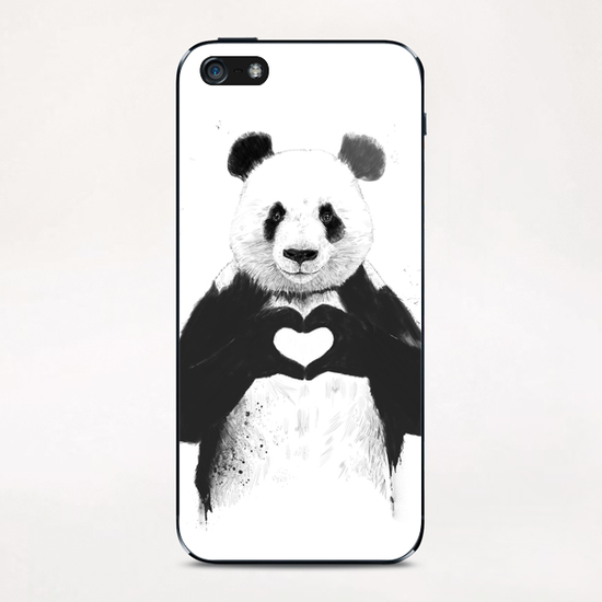 All you need is love iPhone & iPod Skin by Balazs Solti