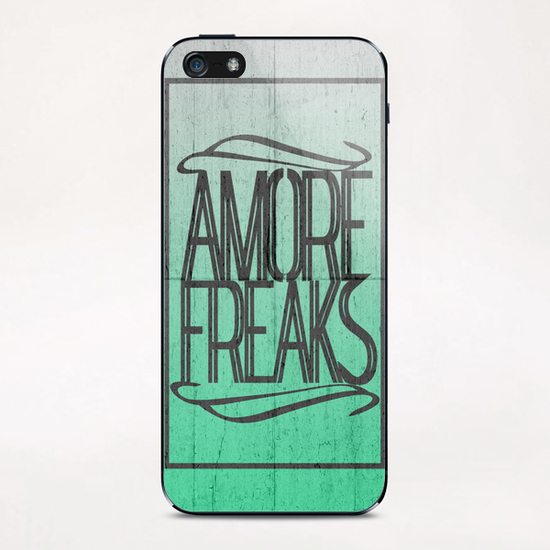 AMORE FREAKS iPhone & iPod Skin by Chrisb Marquez