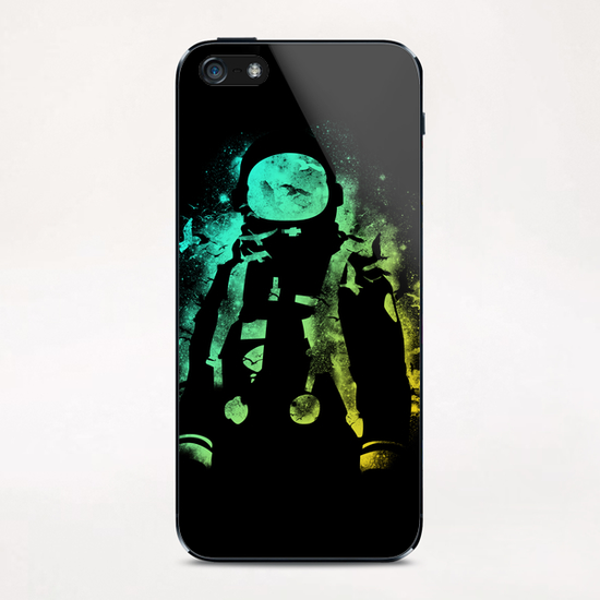 Astro iPhone & iPod Skin by Tobias Fonseca