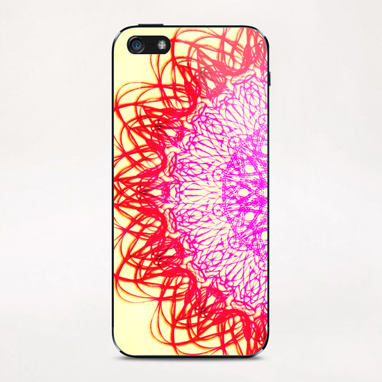 ATOM OF HAPPINESS iPhone & iPod Skin by Chrisb Marquez