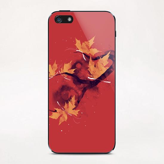 Autumn Butterflies iPhone & iPod Skin by Tobias Fonseca