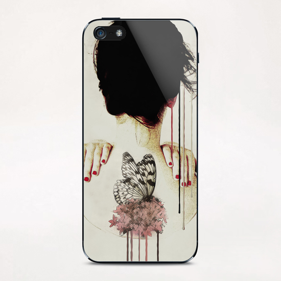 Portrait - Backage iPhone & iPod Skin by Galen Valle