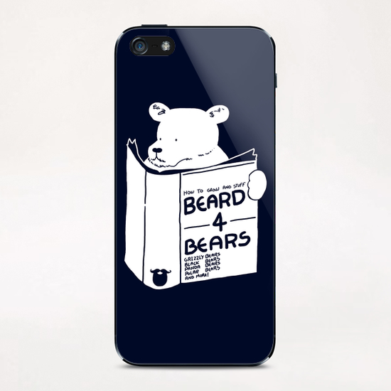 Beard For Bears iPhone & iPod Skin by Tobias Fonseca