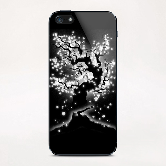 Beauty Cannot Be Interrupted iPhone & iPod Skin by Tobias Fonseca