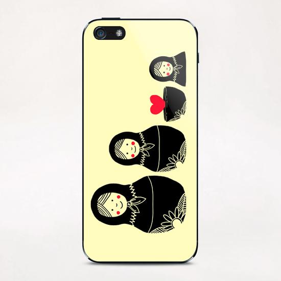 Beauty Inside iPhone & iPod Skin by Tobias Fonseca