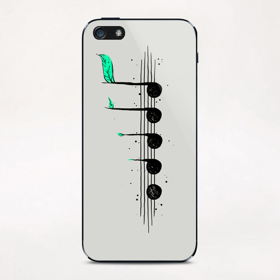 Biosphere Orchestra iPhone & iPod Skin by Tobias Fonseca