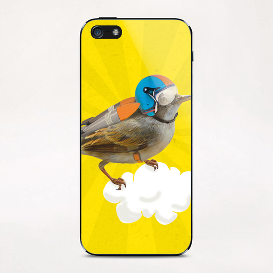 Rocket Bird iPhone & iPod Skin by tzigone