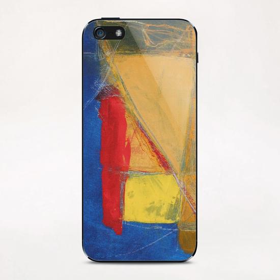 Bleu Profond iPhone & iPod Skin by Pierre-Michael Faure