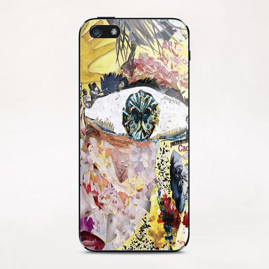 avoir peur et se cacher iPhone & iPod Skin by frayartgrafik
