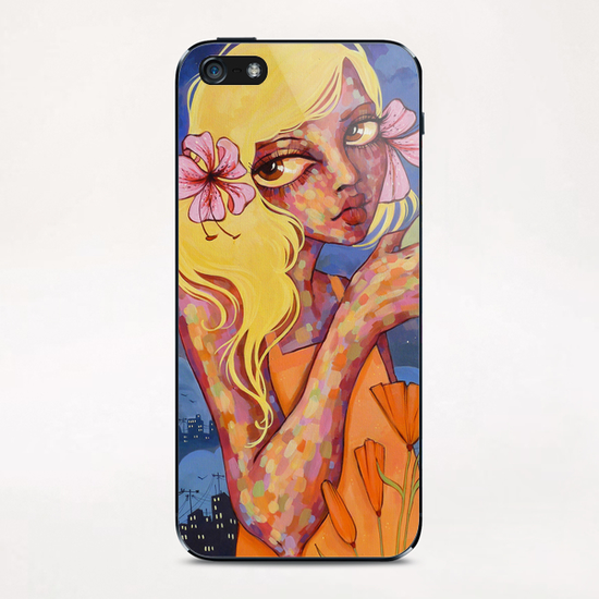 Calm Before The Storm iPhone & iPod Skin by Ursula X Young