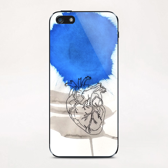 Le Cœur iPhone & iPod Skin by Pierre-Michael Faure