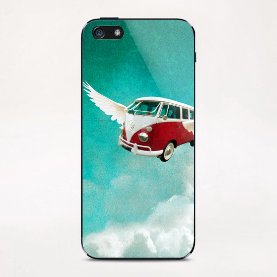 Sky-surf iPhone & iPod Skin by tzigone