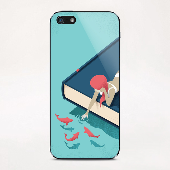Relaxing iPhone & iPod Skin by Andrea De Santis
