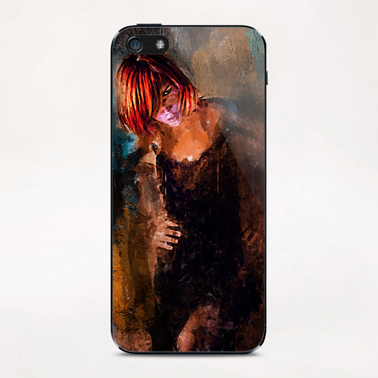 Departure iPhone & iPod Skin by Galen Valle