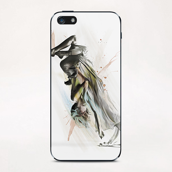 Drift Contemporary Dance Two iPhone & iPod Skin by Galen Valle