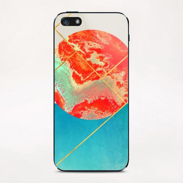 Earth & Sea iPhone & iPod Skin by Uma Gokhale