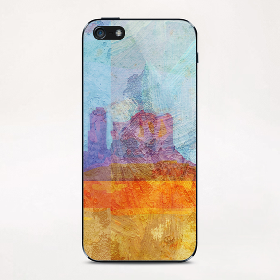 Monument VAlley iPhone & iPod Skin by Malixx