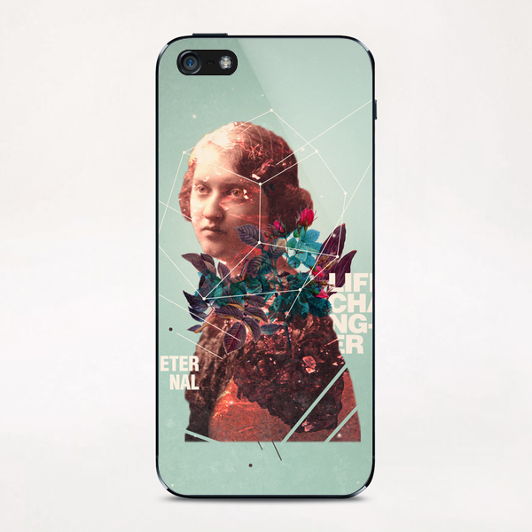 Eternal Lifechanger  iPhone & iPod Skin by Frank Moth