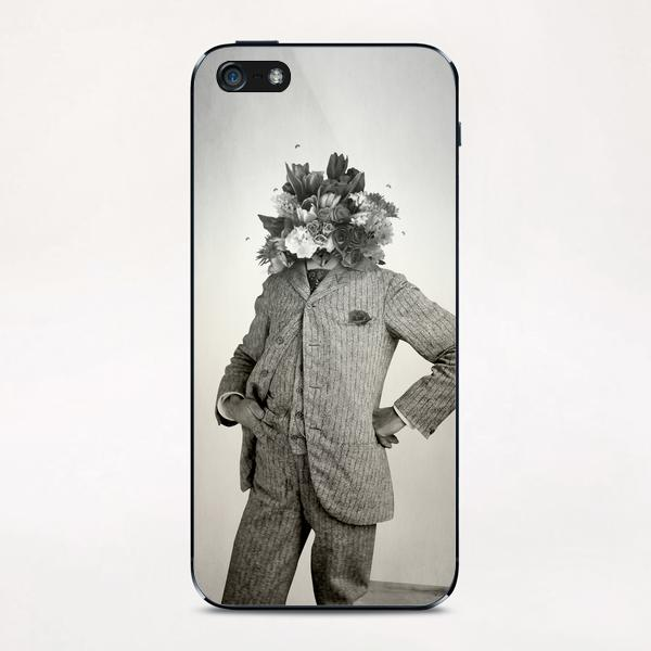 Flowers iPhone & iPod Skin by lacabezaenlasnubes