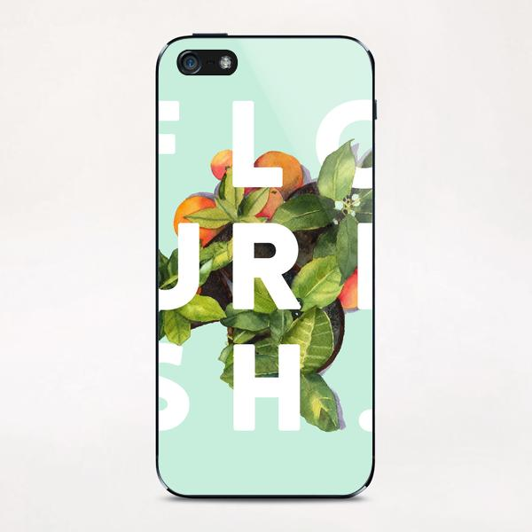 Flourish iPhone & iPod Skin by Uma Gokhale