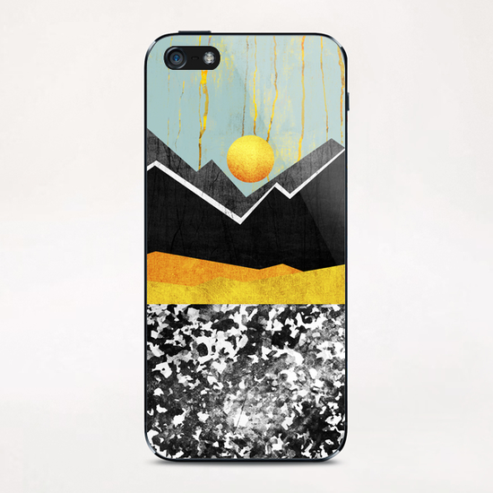 Golden Land iPhone & iPod Skin by Elisabeth Fredriksson