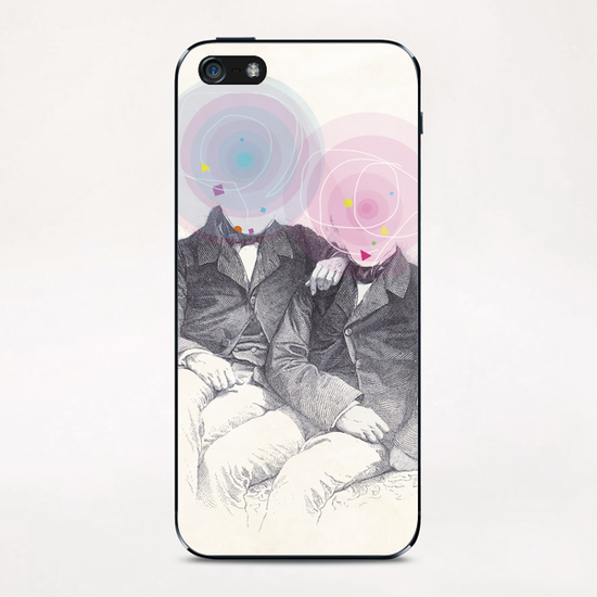 Goncourt Brothers iPhone & iPod Skin by tzigone