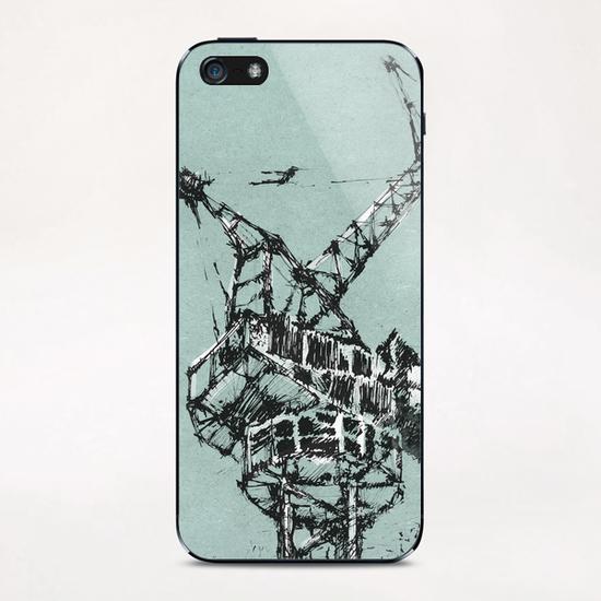 Crane iPhone & iPod Skin by Georgio Fabrello