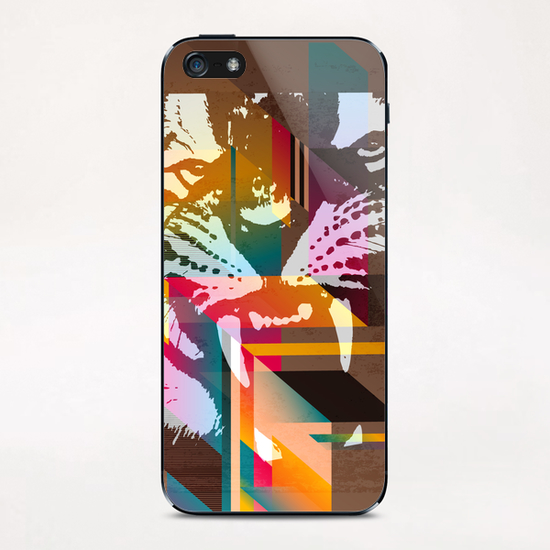 Roar! iPhone & iPod Skin by Vic Storia
