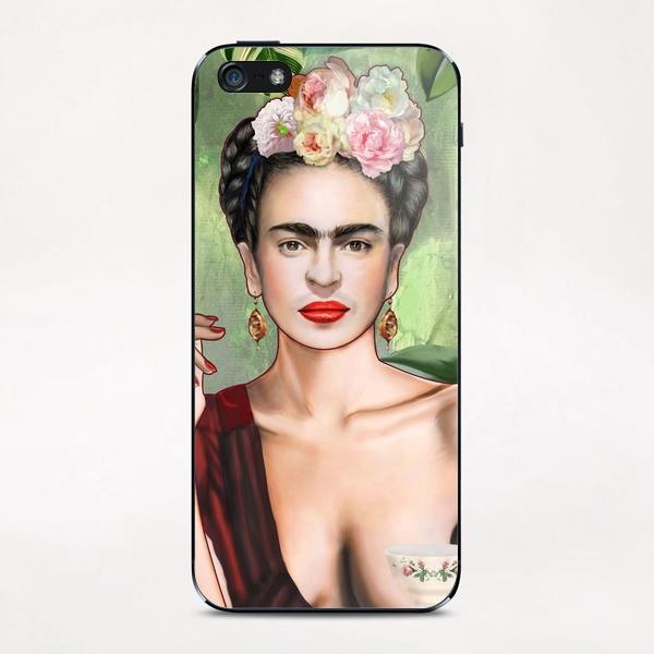 Frida con amigos iPhone & iPod Skin by Nettsch