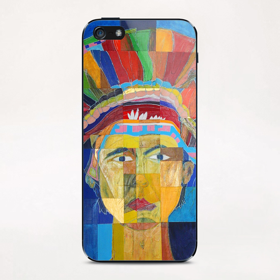 Indian  iPhone & iPod Skin by Pierre-Michael Faure