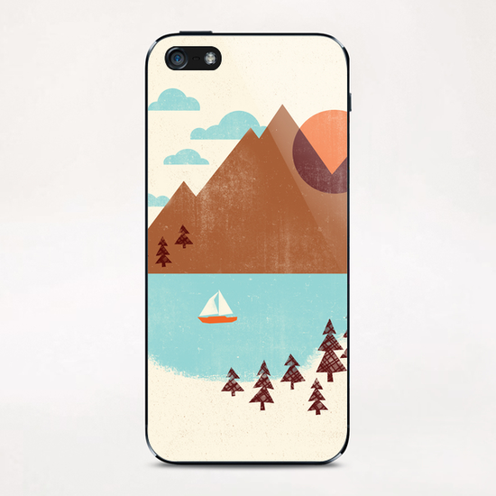 Indian Summer iPhone & iPod Skin by Jenny Tiffany