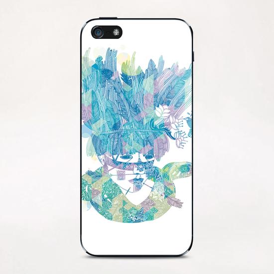 NATIVE WILD iPhone & iPod Skin by Laurene