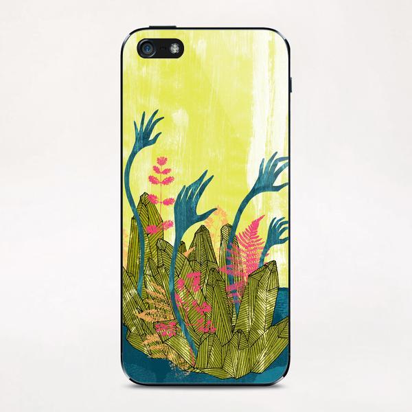 l'isola di calipso iPhone & iPod Skin by junillu