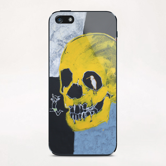 Jump  iPhone & iPod Skin by Pierre-Michael Faure