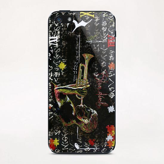 le temps iPhone & iPod Skin by frayartgrafik