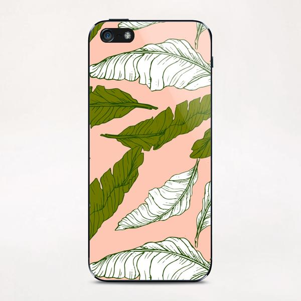 Pattern leaf leaf iPhone & iPod Skin by mmartabc