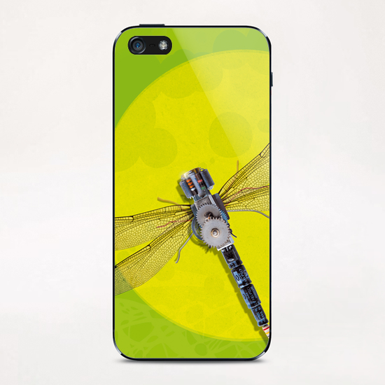 Mecanical Dragonfly iPhone & iPod Skin by tzigone