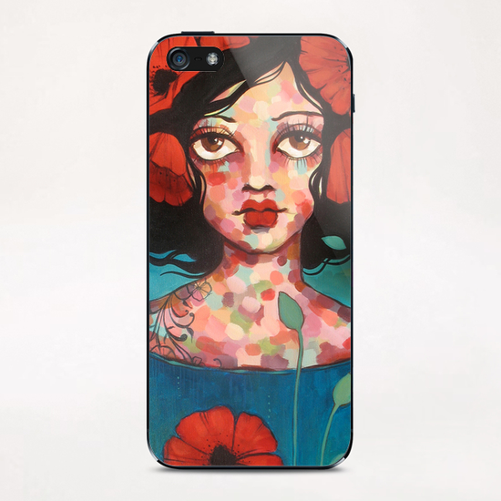 Memory iPhone & iPod Skin by Ursula X Young