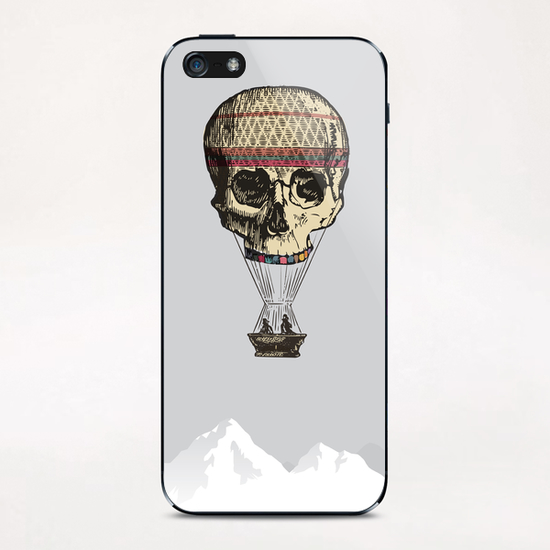 L'amour du risque iPhone & iPod Skin by tzigone